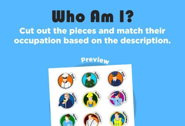 Social Studies - Who Am I?