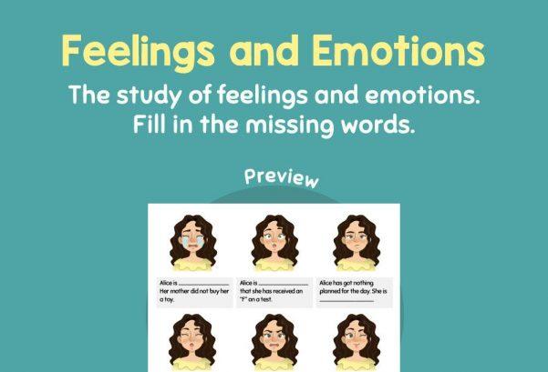 Social Studies - Feelings and Emotions