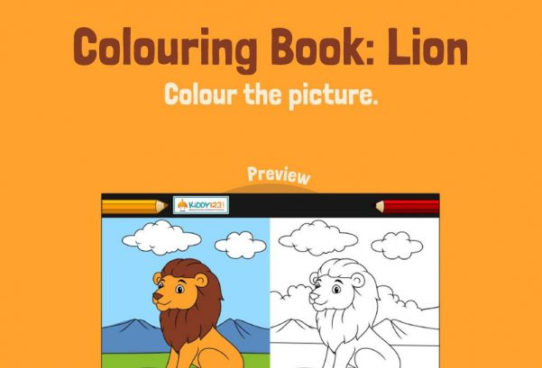 ART - Colouring Book: Lion