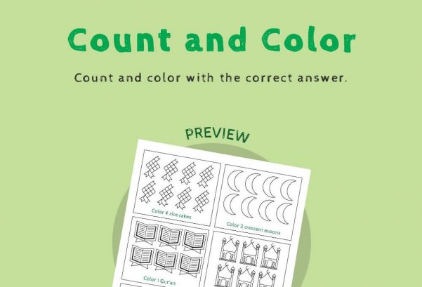 Numbers - Count and colour