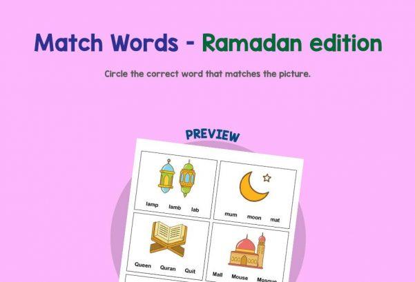 Language - Match words