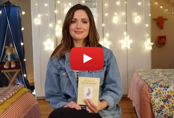 StorylineOnline: The Tale of Peter Rabbit read by Rose Byrne