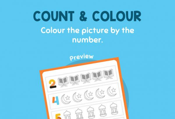 Numbers - Count & Colour