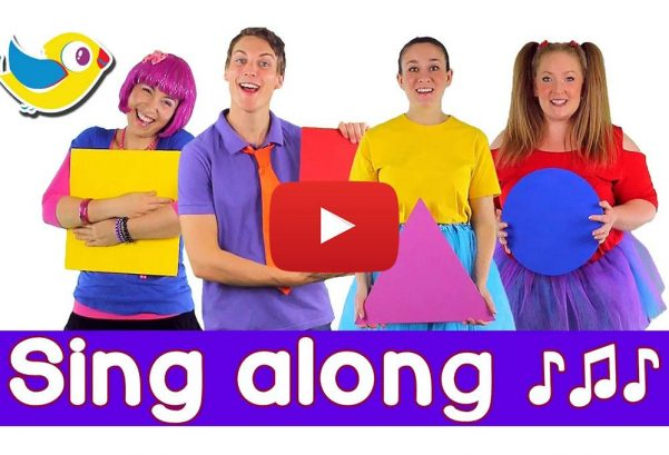 Bounce Patrol: Sing along Shapes Song - with lyrics