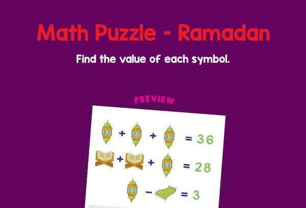 Logic & Puzzles - Math Puzzle