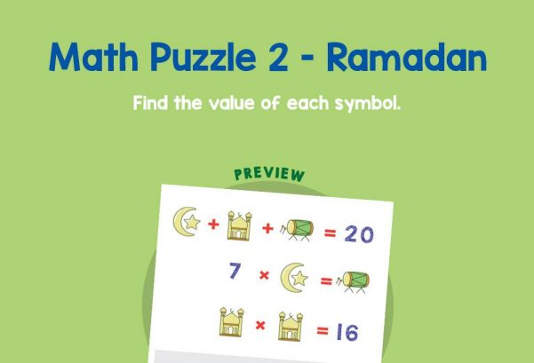 Numbers - Math puzzle