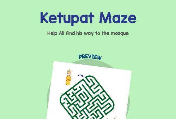 Logic & Puzzles - Ketupat Maze