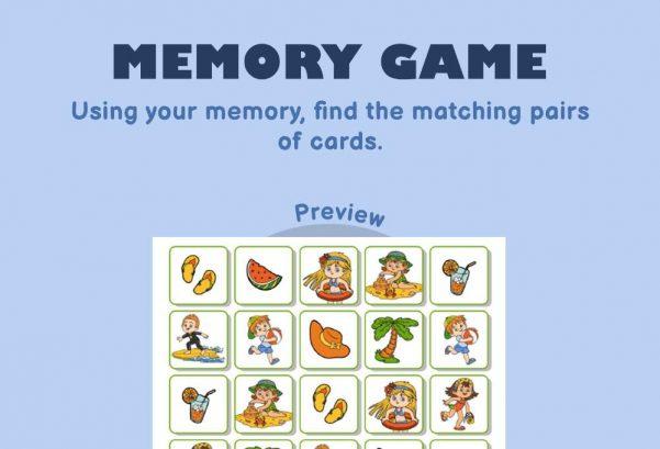 Logic & Puzzles - Memory Game