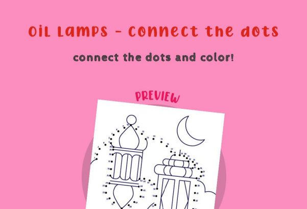 Art - Connect the dots - Oil Lamps