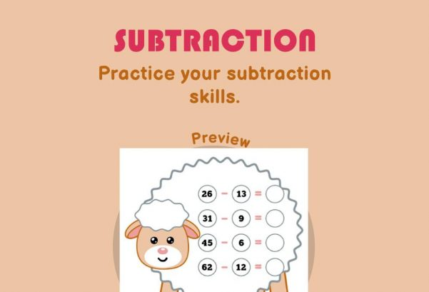 Numbers - Subtraction
