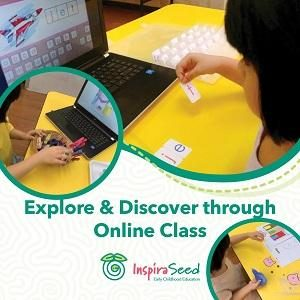 Explore and Discover Through Online Class @ InspiraSeed Kindergarten, Bandar Puteri, Puchong