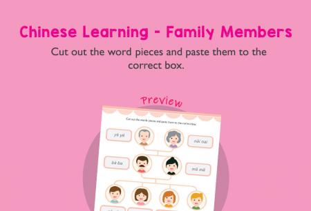 Language - Chinese learning: Family members