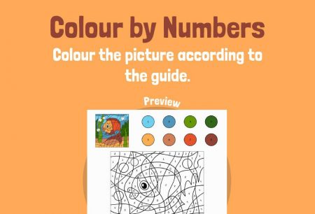 Art - Colour by numbers: Fish