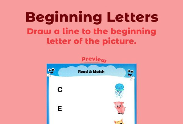 Language - Beginning Letters 4