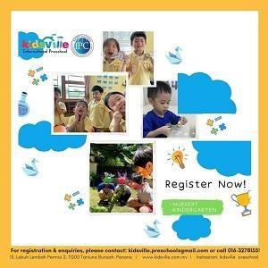 Intensive Online Course @ Kidsville International Preschool, Tanjung Bungah
