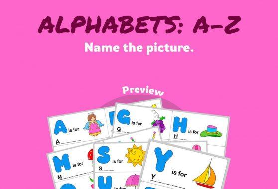 Language - Alphabets A-Z