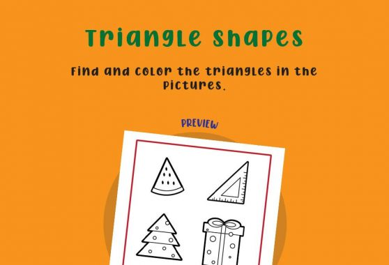 Numbers - Triangle Shapes