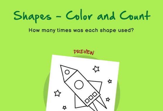 Numbers - Shapes: Color and Count
