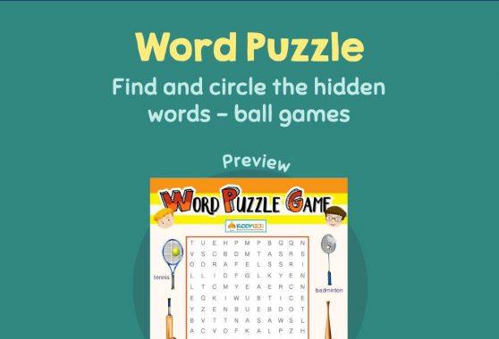 Logic & Puzzles - Word Puzzle