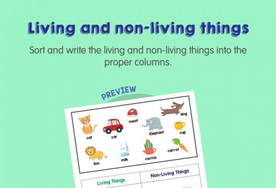 Science - Living and non-living things