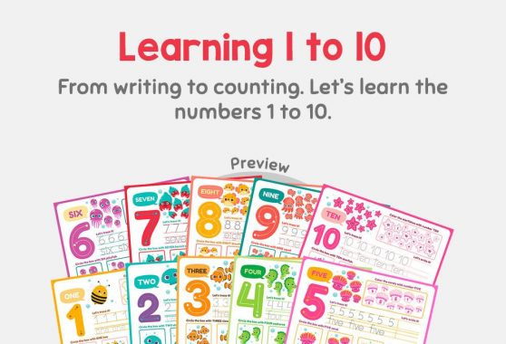 Numbers - Learning 1 to 10