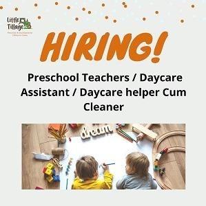 Preschool/Childcare Teachers @ Little Tillage, The Hub SS2