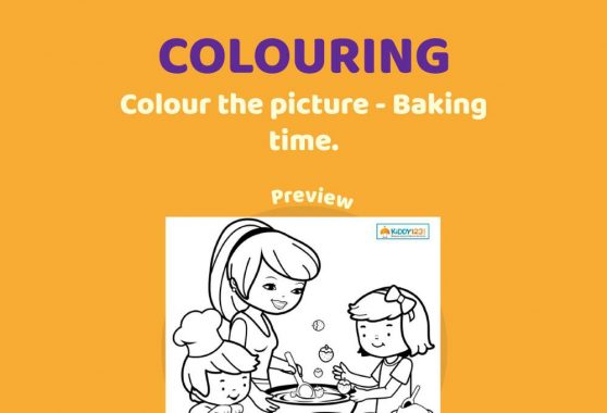 Art - Colouring: Baking Time