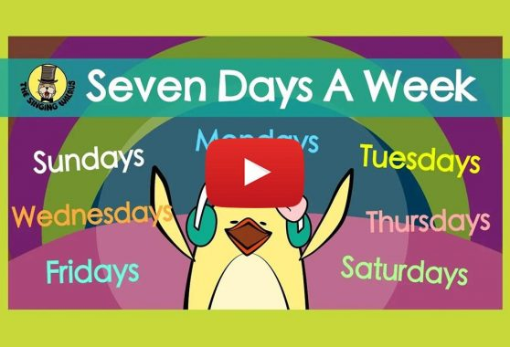 The Singing Walrus: Seven Days a Week | Days of the Week Song