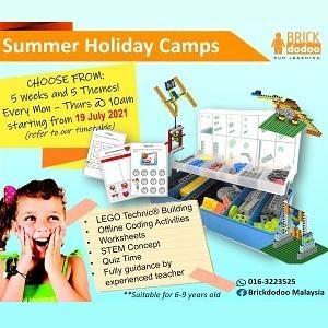 Summer Holiday Camps @ Brickdodoo Malaysia