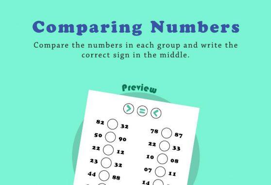 Numbers - Comparing numbers