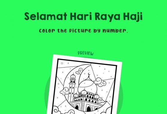 Numbers - Selamat Hari Raya Haji
