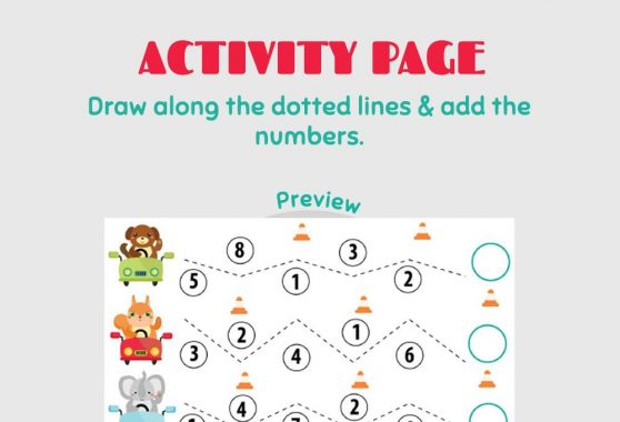 Numbers - Activity Page
