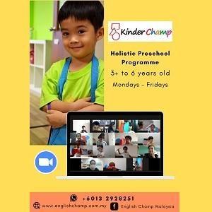 Holistic Preschool Programme @ English Champ, Petaling Jaya