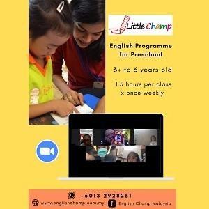 English Programme for Preschool @ English Champ, Petaling Jaya