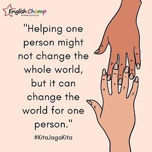 Kita Jaga Kita Campaign @ English Champ, Petaling Jaya