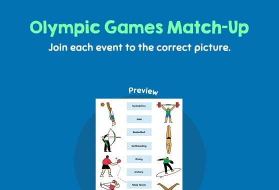 Social Studies - Olympic Games Match-Up