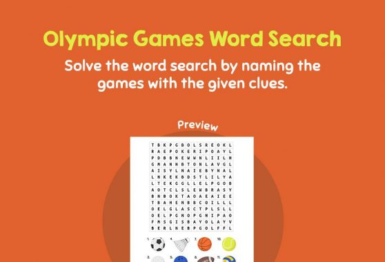 Logic & Puzzles - Olympic Games Word Search