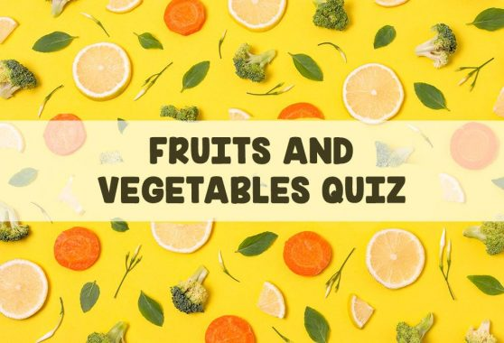 Fruits and Vegetables Quiz for Kids