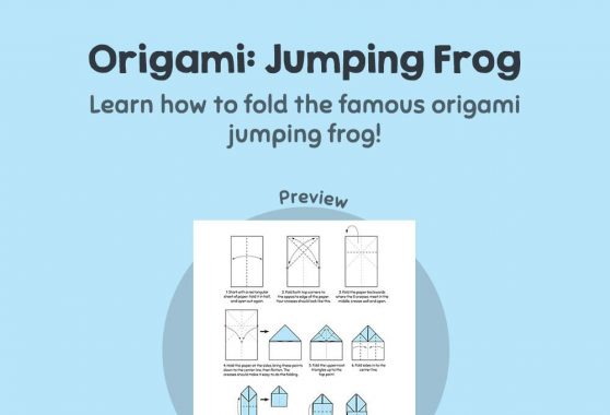 Art - Origami Frog