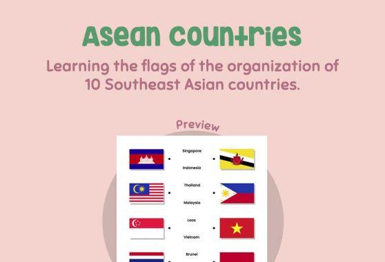 Social Studies - Asean Countries
