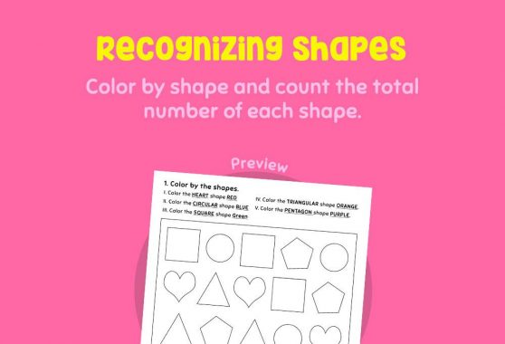 Numbers - Recognizing Shapes