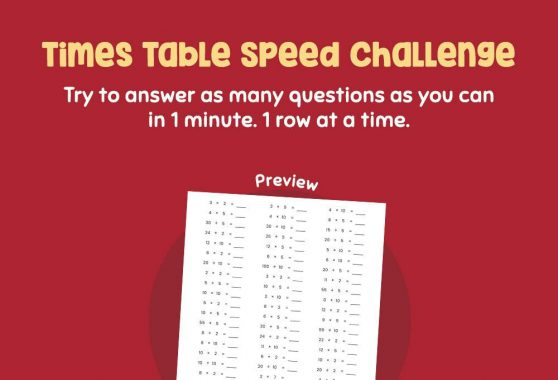 Numbers - Times Table Speed Challenge