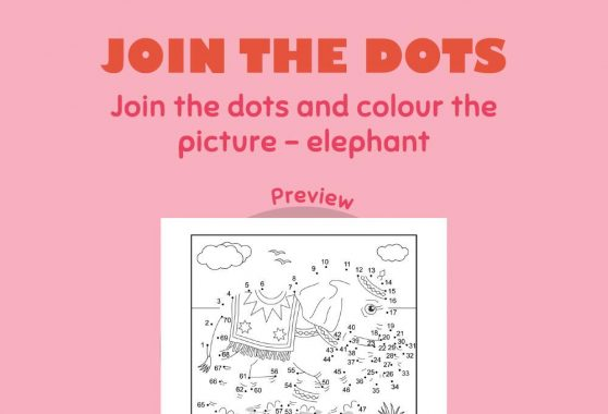 Art - Join the Dots: Elephant