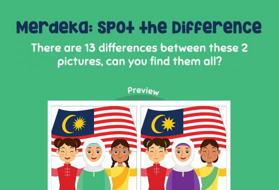 Logic & Puzzles - Merdeka: Spot the difference