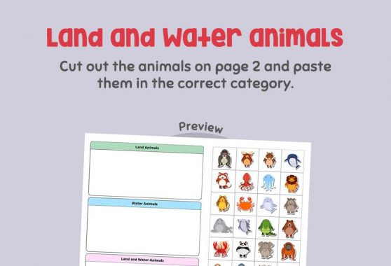 Science - Land and Water Animals