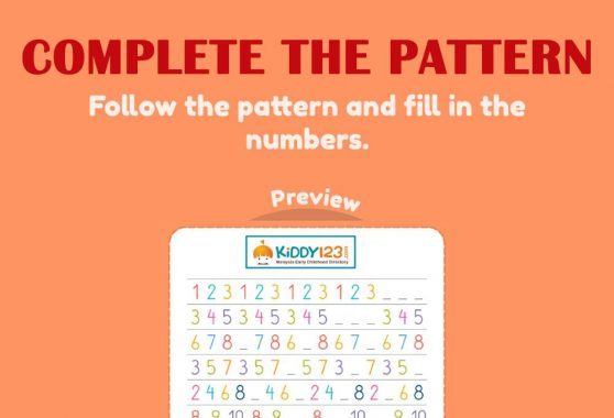 Numbers - Complete the pattern