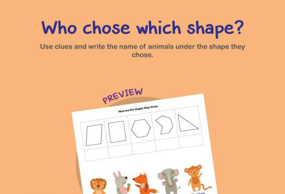 Logic & Puzzles - Who Chose Which Shape
