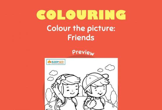 Art - Coloring: Friends