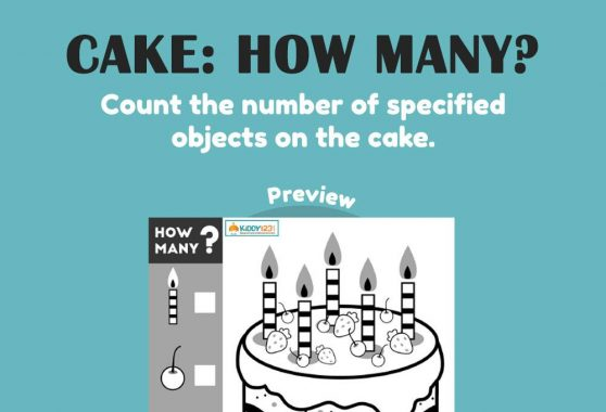 Numbers - How Many?: Cake