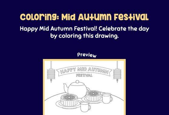 Art - Coloring: Mid Autumn Festival